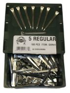 15570-Diamond Horseshoe Nails 100 Ct.