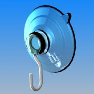 """15985-Suction Cup w/Hook 1.5"""""""