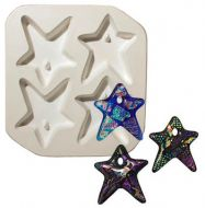 47190-Holey Star Quad Mold