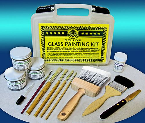 4580-Peter McGrain Deluxe Glass Painting Kit