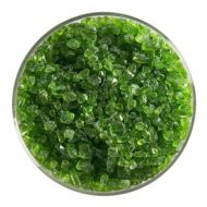 BU142693F-Frit Coarse Spring Green Cathedral 1# Jar