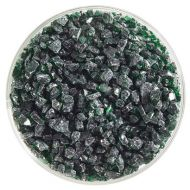 BU114593F-Frit Coarse Kelly Green Cathedral 1# Jar