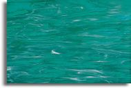 SI82392H Teal Green/White Wispy Iridescent